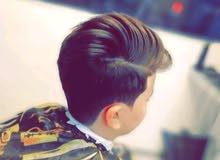 حلاق ومدرب شعر رجالي