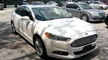 White Ford Fusion 2014 for sale