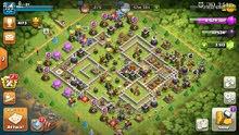 clash of clans account th 11 max + 3500 gems