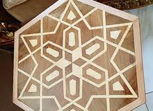 طاولات عربى شغل يدوى