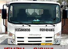 شاحنة 3 طن ونص للنقل البري المباشر  مكان التواجد في مسقط