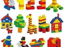 ليجو سيتي 1000 قطعه  ليبدع طفلك بتشكيل النماذج