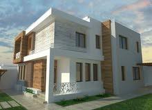 منزل للبيع كرزاز ارض مساحتها 475