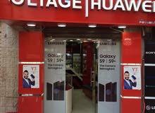 محل أجهزة خلوية للبيع او للضمان في الدوار السابع سوق الخلويات مع الديكور