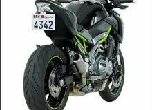 للبيع   ( رقم دراجة نارية )  مميز 4342