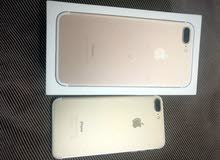i phone 7 plus , gold