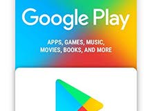 كروت قوقل بلاي Google play