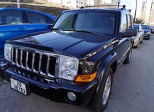 Black Jeep Commander 2007 for sale