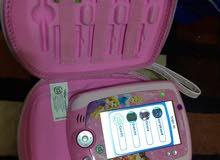 جهاز اطفال تعليم والعاب خزن اكثر من50 لعبه مع رامين العاب يعمل على اللمس وبلقلم