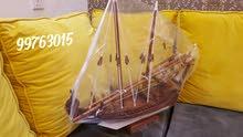 مجسمات سفن عمانية محلية الصنع