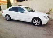 مرسيدس c200 موديل 2001