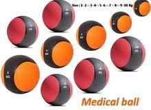 الكرة الطبية Medicine Ball فقط من i4sports