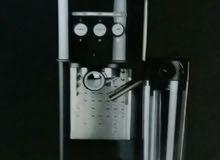 ماكنة قهوه جديده مزدوجه التجهيز (2 كوب )