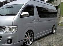 Gasoline Fuel/Power car for rent - Toyota Grand Hiace 2018