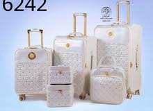 6 قطع حقائب