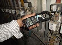 كهربائي منازل متجول كهربجي للصيانة واصلاح اعطال الكهرباء الفجائية