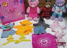 build a bear toys collections  مجموعة العاب اصلية