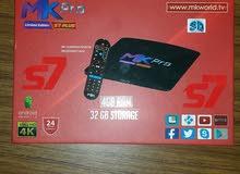 mk pro S7 Plus receiver  ريسيفر ام كي اس 7 بلس