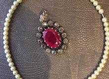 خناق /دهب، احجار الماس ،روبي، ولولي