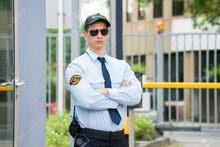 مطلوب موظف امن في منطقة وسط البلد