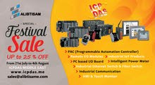 ICPDAS Middle East Sale Festival  UP to 25% OFF