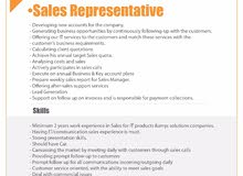 Technical Support & Sales Representative