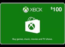 xbox $100 us region ( أقل سعر بالعالم)