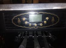 مكينة أيس كريم هولنديةالصنع حديثة مع بمب هواء