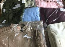 ملابس رجالية ونسائية جديدة سعر جملة