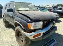 Used condition Toyota 4Runner 1997 with +200,000 km mileage