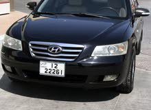 Black Hyundai Sonata 2007 for sale