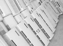 بيع المكيفات الا سبليت المستعملة والشباك مع التركيب والتوصيل 0539046612