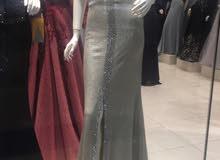 فستان لبسة ساعتين للبيع