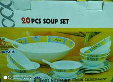 20 pieces soup set American series