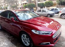 Ford Fusion 2014 For Rent - Maroon color