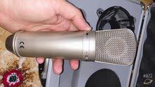 مايك بيرنگر b2 مع كرت صوت مع فلاتر صوتية