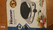 لوح تسخين كهربائي (بوتاجاز) ماركة هوم 1500 وات ستانليس تيل Hp103-D8 إستعمال شهر