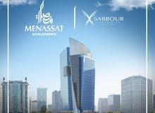 برج خليفه بالعاصمة الادارية الجديدة شركه منصات مكتب فيو جرين ريفر + ميجا جاردن
