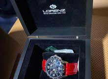 ساعة من الماركة الايطالية لورينز اصدار خاص sporting club