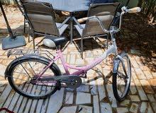 دراجة هوائية استعمال خفيف جدا بحالة ممتازة