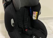 عربة اطفال + كرسي سيارة للاطفال
