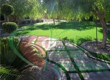 إنشاء ملاعب رياضية وتوريد وتركيب عشب صناعي تنفيذ الأرضيات المطاطية