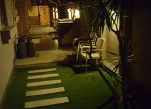 شقة 250م ارضى بحديقة للأيجار بفيلات الحى الثانى