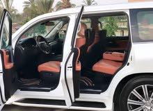 White Lexus LX 2016 for sale