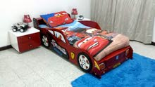 Homecenter Car bed and side tables with mattress