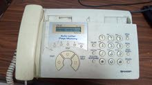 فاكس و تليفون ارضي
