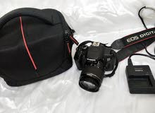 Canon 650D. tachscreen. Camra. and 18-55mm kit lens .charger .bag
