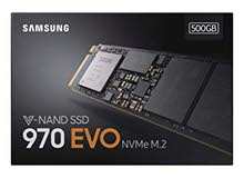 Samsung SSD Evo & Pro 500GB & 1TB & 2TB جديد