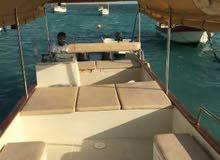 قارب بوت رحلات للصيد والنزهه بجدة