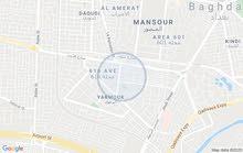 بيت100فى اليرموك ركن تشجير حديث بناء سنة 2019مرمر كرانيت ثلاث طوابق